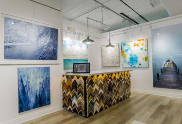 Art gallery full of local artists and photographers framed work | Aldecor Custom Framing & Gallery - Naples, Florida