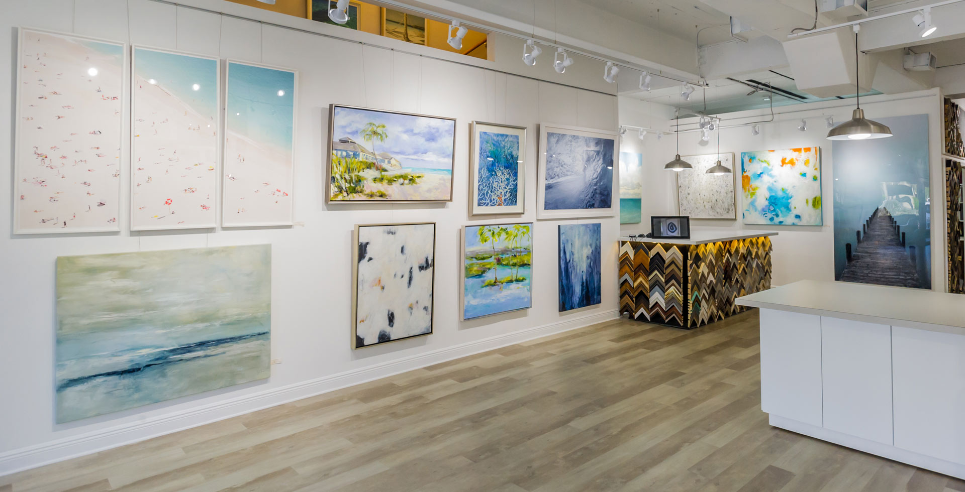 Art gallery full of local artists and photographers work | Aldecor Custom Framing & Gallery - Naples, Florida